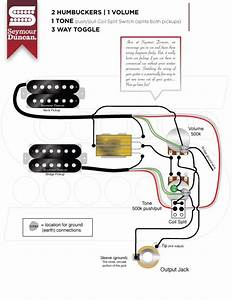 Guitar Wiring Diagram Seymour Duncan