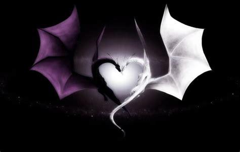 emo heart desktop wallpaper gorgeous dragon heart