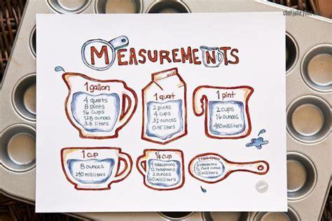 cooking measurements cooking measurements  chefjulieyoon store chef julie yoon food