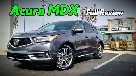 acura mdx full review advance technology base