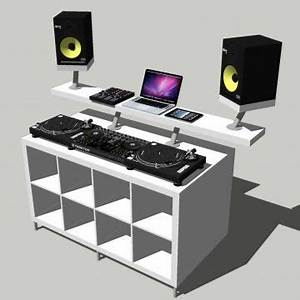 Ikea and dj booth on pinterest for Dj tisch