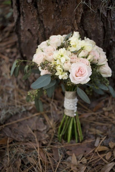 Pink Elegant Rustic Wedding Bouquet Country Wedding