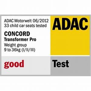 Safety First Ever Safe Test Adac : concord products driving car seats transformer pro ~ Jslefanu.com Haus und Dekorationen