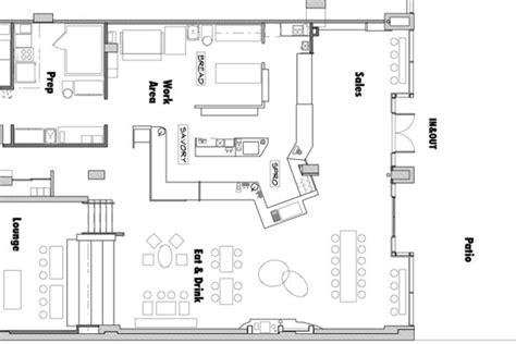 small bakery floor plan design