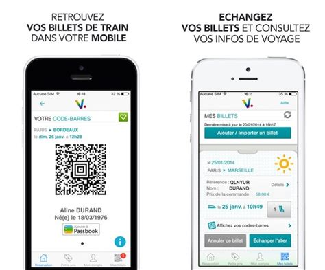 Modifier Billet Sncf Appli by Voyages Sncf S Affiche Dans Le Centre De Notifications