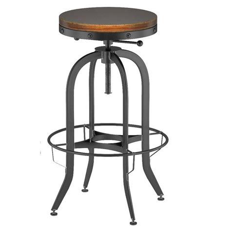 industrial vintage bar stool black 3d model max obj fbx