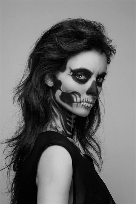 make up skelett she has waited skeleton makeup by pauline darley design swan