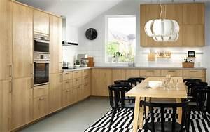 Cuisines Ikea 2018 : la madera es sin nimo de calidez ikea ~ Nature-et-papiers.com Idées de Décoration