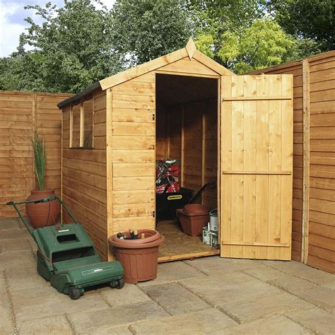 Shiplap Shed by 7x5 Shiplap Apex Trent Shed Waltons Sheds