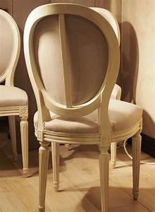 Chaise Louis Xvi : chaises medaillon louis xvi meuble de salon contemporain ~ Teatrodelosmanantiales.com Idées de Décoration