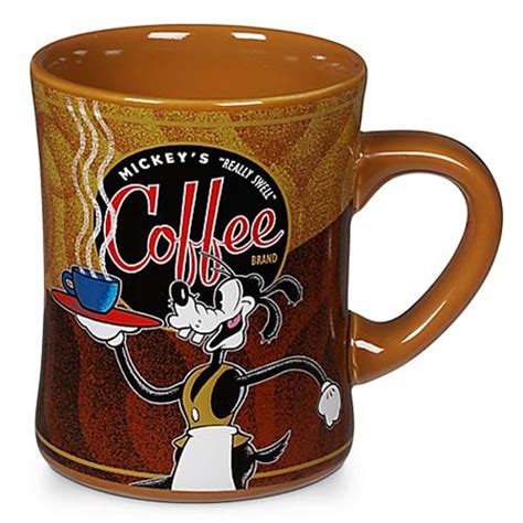 mickeys  swell coffee brand mug goofy