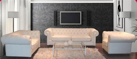 salon canap pas cher ensemble canape cuir salon chesterfield per 2