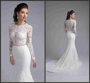 wedding gowns with long sleeves lace oasis amor fashion With wedding dress with long lace sleeves