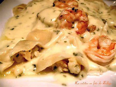 recette pate fruit de mer vin blanc recette de ravioli cr 233 meux aux fruits de mer