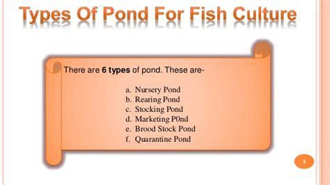 construction  fish pond