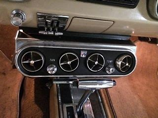 ford mustang coupe  factory air conditioning