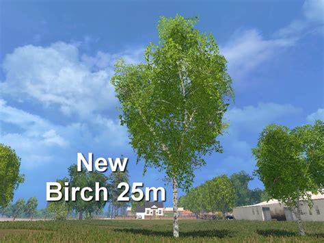 birch ls new forest birch 25m v 1 0 ls 15 farming simulator 2015 15 mod