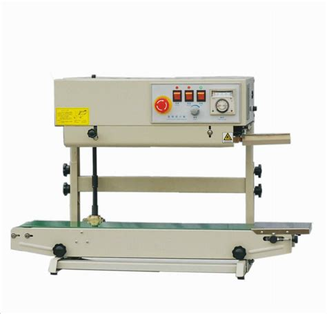 entrepack stainless steel  vertical continuous band sealer emboss printer ebay