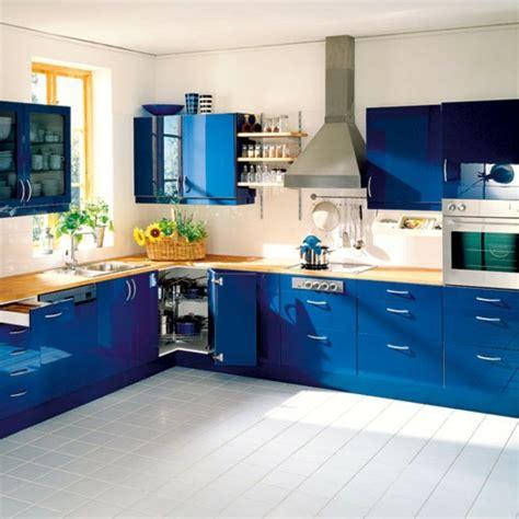 neue kuechenideen blaue und gruene farbe archzinenet