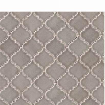 Tile Mosaic Gray Lantern Dove Arabesque Tiles