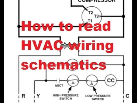 Hvac Reading Air Conditioner Wiring Schematics Youtube