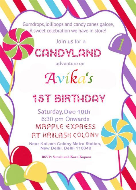 Birthday party invitation ideas in Delhi Gurgaon