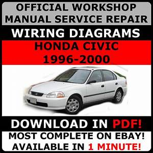 Official Workshop Service Repair Manual Honda Civic 1996