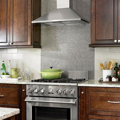 kitchen range backsplash tile backsplash ideas for the range better homes 2479