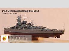 NNT German Pocket Battleship Graf Spee Detail Set for