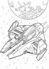 Coloring Wars Spaceship Star Pages Spaceships Ships Drawing Ship Alien War Space Colouring Printable Sheets Drawings Kleurplaten Disney Groep Getdrawings sketch template