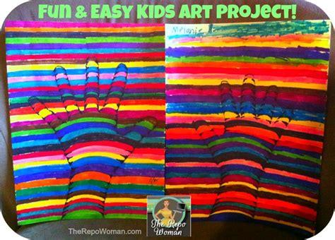 Teaching Kids Art Fun & Easy Project To Do