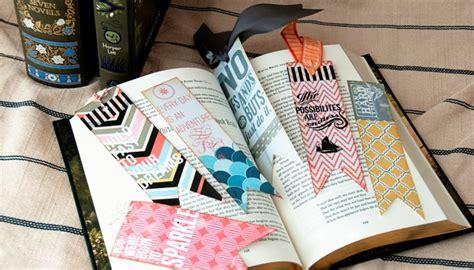 lesezeichen selber basteln lesezeichen basteln 26 tolle ideen aus papier stoff metall