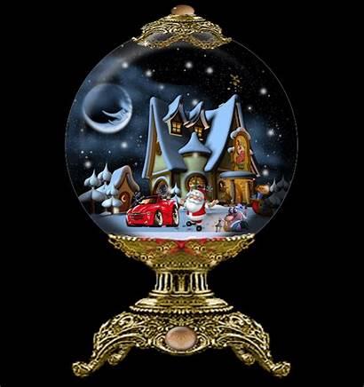Snow Globe Christmas Globes Gifs Animated Merry
