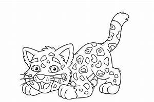 Dessin Jaguar Facile : l opard animaux coloriages imprimer ~ Maxctalentgroup.com Avis de Voitures