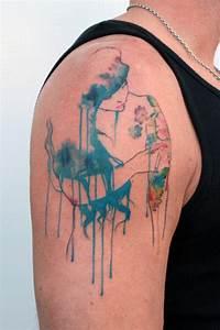 39 Fotos de tatuagens em estilo aquarela
