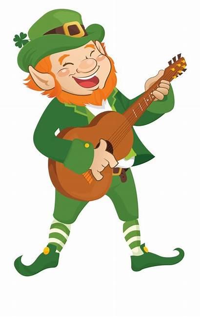 Leprechaun Clipart Elf Lucky Frame Song Charms