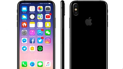 can a iphone be iphone 8 will be all screen in the front