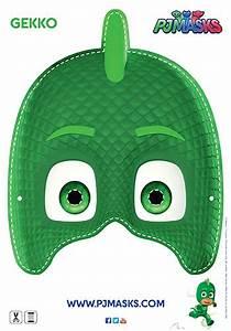 PJ Masks Gecko Mask Printable Bub Hub