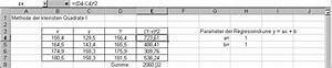 Excel Steigung Berechnen : methode der kleinsten quadrate mit excel ~ Themetempest.com Abrechnung