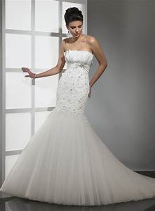lace mermaid wedding dress with strapless ipunya With strapless lace mermaid wedding dress
