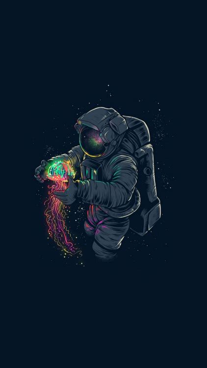 astronaut in space drawing astronaut wallpaper