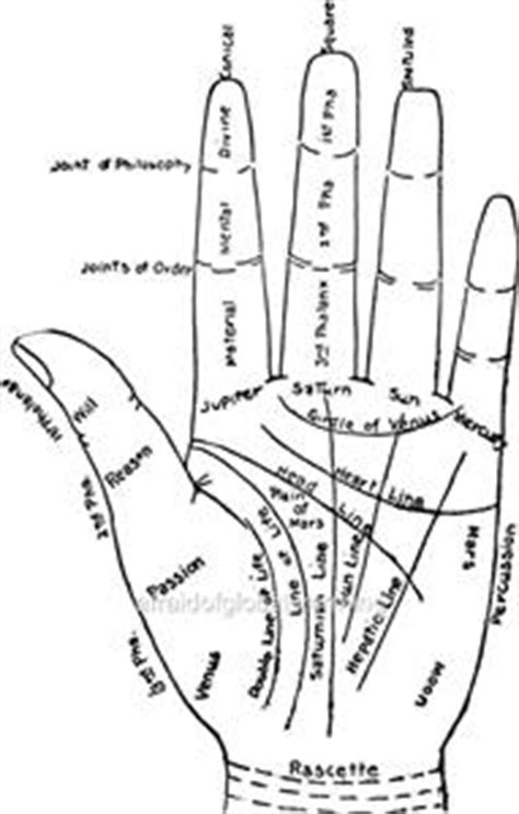 Print. 1900. Palm Reading - Chart Of The Hand | eBay