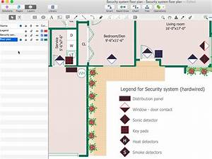 Creating A Security And Access Floor Plan