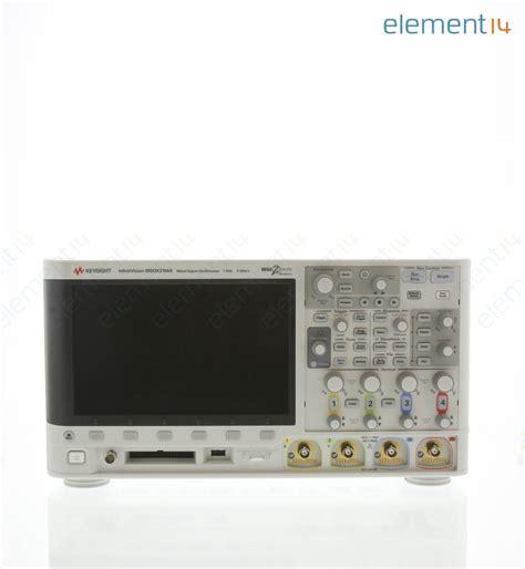 Msoxa Keysight Technologies Mso Mdo Oscilloscope