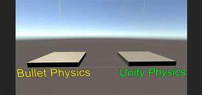 Physics Bullet Unity Engine Unity3d Comparison Reddit