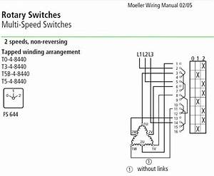 3 Ph  Dahlander 2 Speed 1 Winding  Motor  Switch Help Please  Steinel Mill