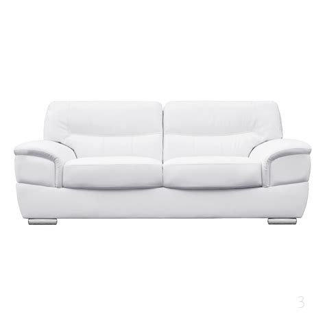white leather sofa and chair barletta italian inpired white leather sofa collection