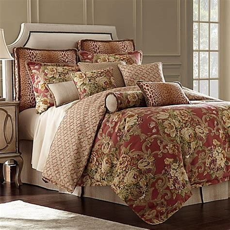 rose tree comforters tree durham reversible comforter set in coral bed bath beyond