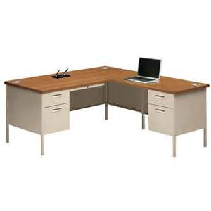 Bush Desk Series C by Hon Metro Classic 66 L Shaped Desk Workstation P3266l