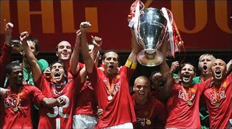 View manchester united fc squad and player information on the official website of the premier league. Manchester United winning UCL 2008